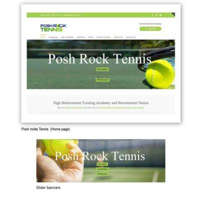 Posh Rock Tennis