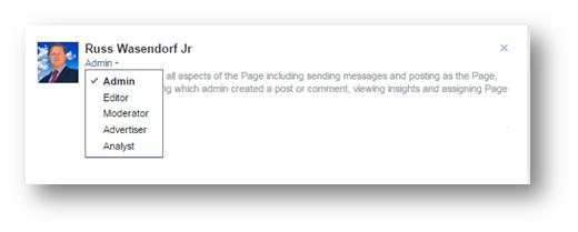 FB Admin Page Access