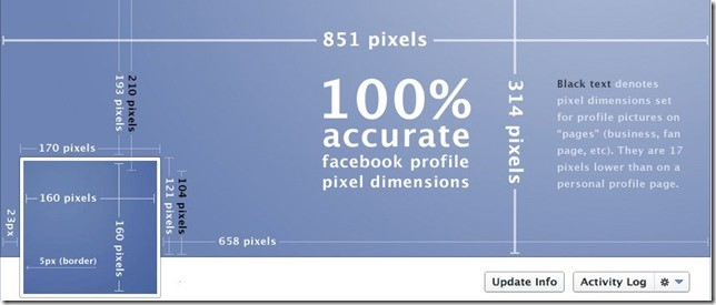Facebook Cover Photo Dimentions