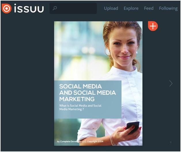 Issuu-CD-Social-Media-Marketing-eBook-Example