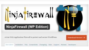 Ninja Firewall a Firewall Plugin