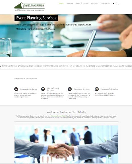 GPME Website Screenshot